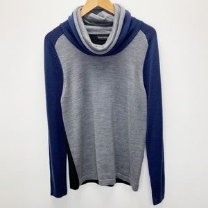 Antony Morato Wool Blend Cowl Neck Pullover
